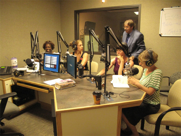 Pastor Kathy Ann Wuopio invited us to promote Greater Detroit on her Christian radio program.