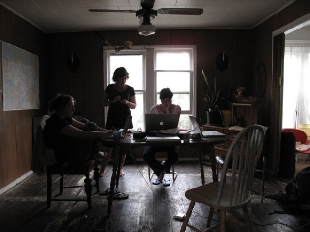JUNE 2, 2010 / Our home in the Detroit void.